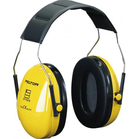 3M Peltor Optime I H510A gehoorkap met hoofdband SNR 27 dB(A) (H510A-401-GU)
