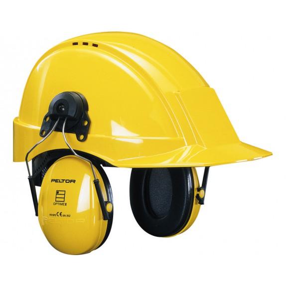 3M Peltor gehoorkap Optime I met helmbevestiging SNR 26 dB(A) (H510P3E-405-GU)