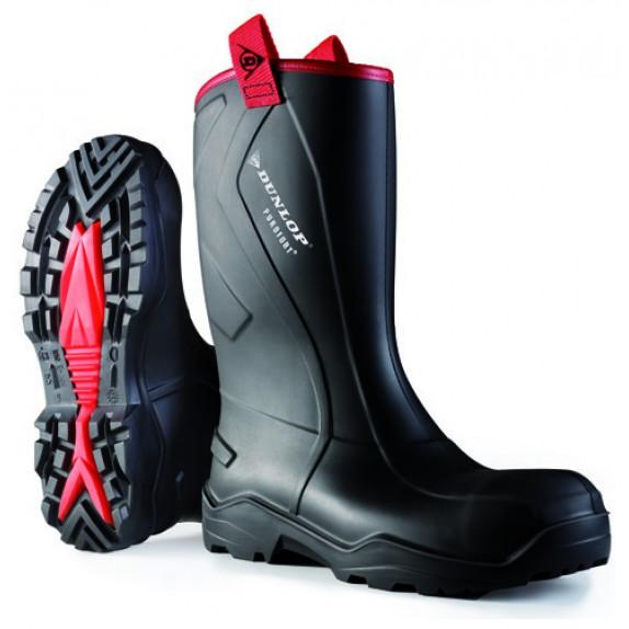 Dunlop C762043.CH Purofort+ rugged S5 zwart