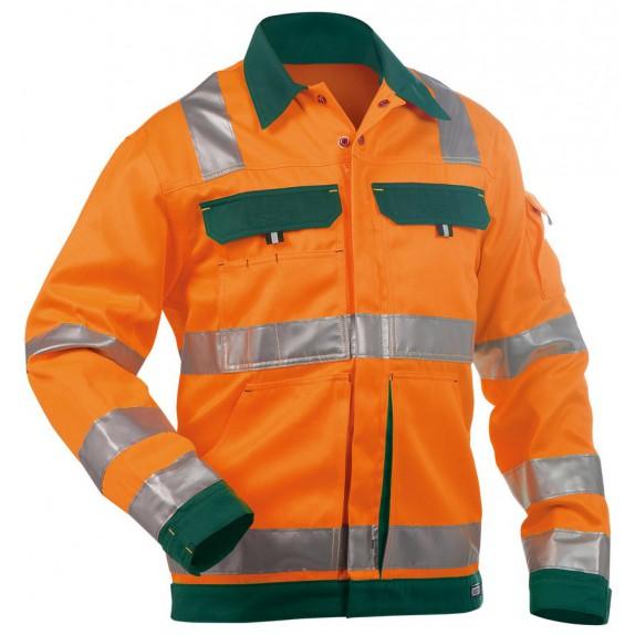 Dassy Dusseldorf Hoge zichtbaarheidswerkvest Oranje/Groen