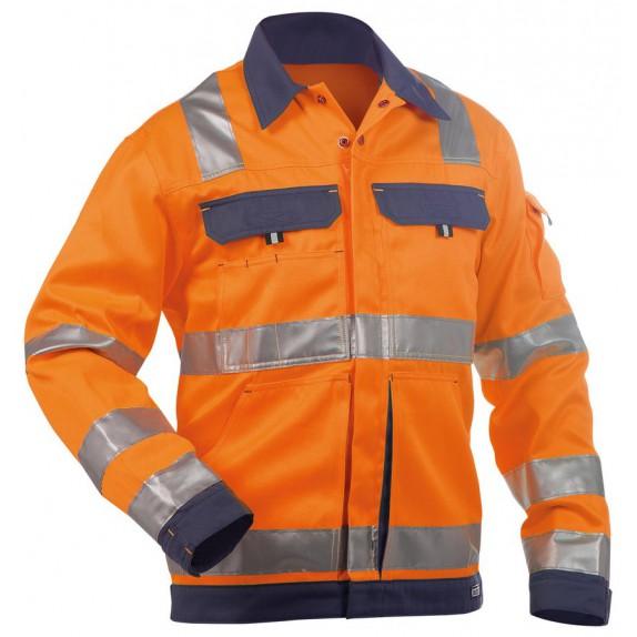 Dassy Dusseldorf Hoge zichtbaarheidswerkvest Oranje/Marineblauw