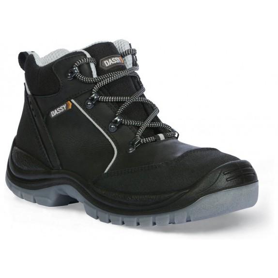 Dassy Hermes S3 S3 Werkschoenen Hoge schoen Zwart