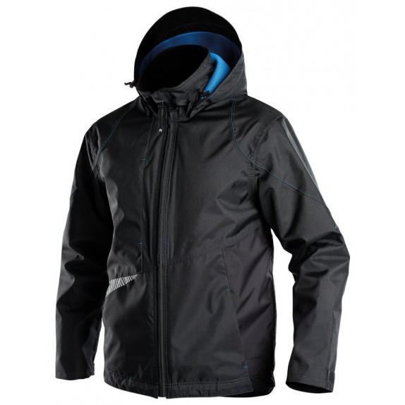 Dassy Hyper Wind- en waterdichtje jas D-FX Zwart/Zwart