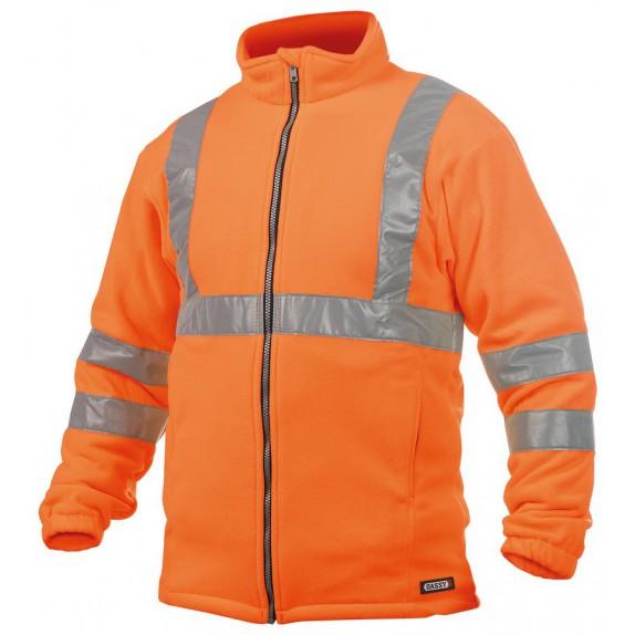 Dassy Kaluga Hoge zichtbaarheidsfleecevest Oranje