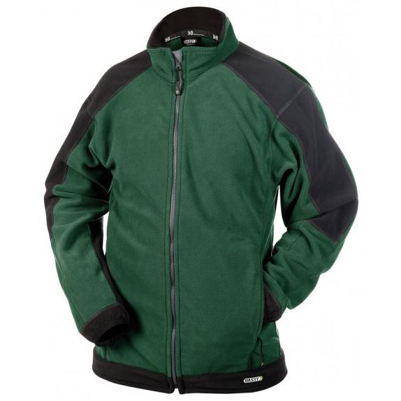 Dassy Kazan fleecevest Groen/Zwart