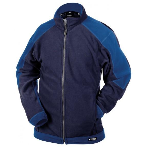 Dassy Kazan fleecevest Marineblauw/Korenblauw