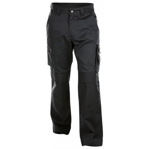 Dassy Miami Werkbroek met kniezakken Zwart - 245 g/m²