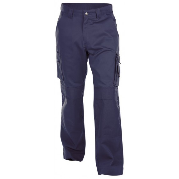 Dassy Miami katoen Werkbroek met kniezakken Marineblauw
