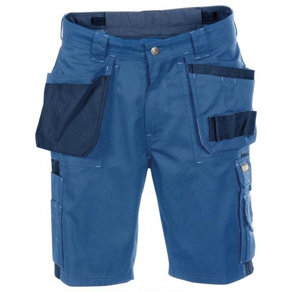Dassy Monza multizakkenshort Korenblauw/Marineblauw