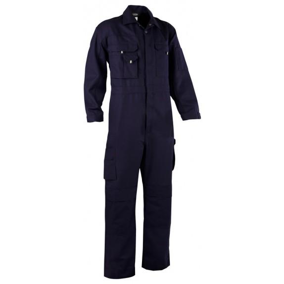 Dassy Nimes Overall met kniezakken Marineblauw