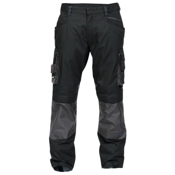 Dassy Nova werkbroek met kniezakken D-FX Zwart/Grijs