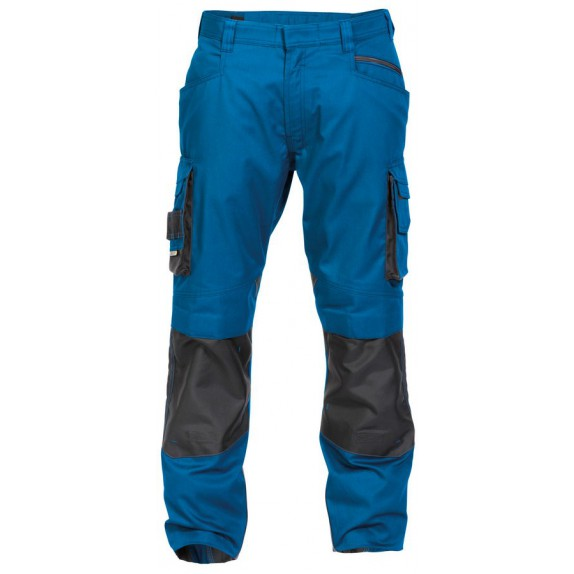 Dassy Nova werkbroek met kniezakken D-FX Blauw/Grijs