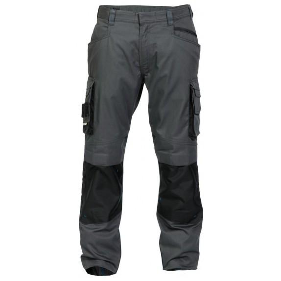 Dassy Nova werkbroek met kniezakken D-FX Grijs/Zwart