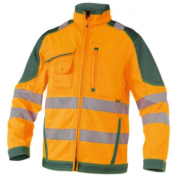 Dassy Orlando Hoge zichtbaarheidswerkvest Oranje/Groen