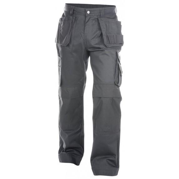 Dassy Oxford Multizakkenbroek met kniezakken Grijs - 245 g/m²