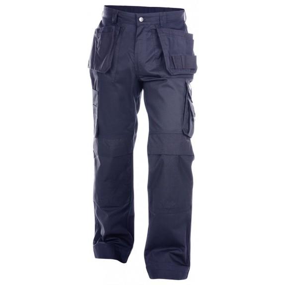 Dassy Oxford Multizakkenbroek met kniezakken Marineblauw