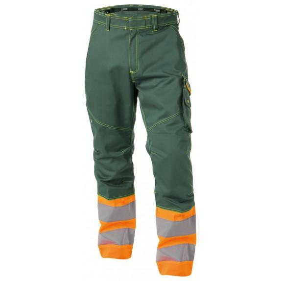 Dassy Phoenix Hoge zichtbaarheidswerkbroek Groen/Oranje