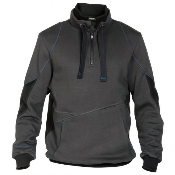 Dassy Stellar sweatshirt D-FX Grijs/Zwart