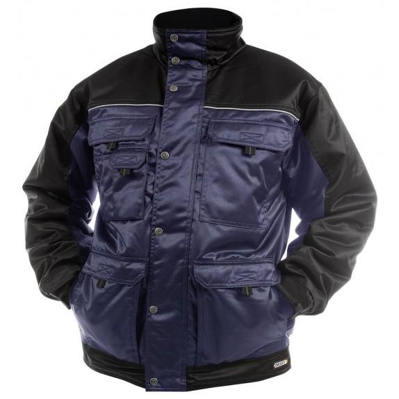Dassy Tignes beaver winterjas Marineblauw/Zwart