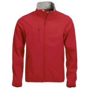 Clique Basic Softshell Jas Heren Red