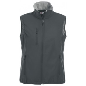 Clique Basic Softshell Ds Bodywarmer Antraciet
