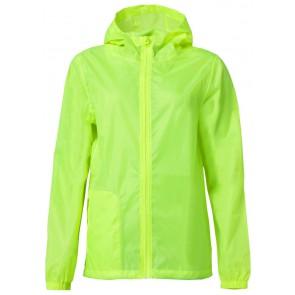 Clique Basic Rain Jacket Signaalgeel