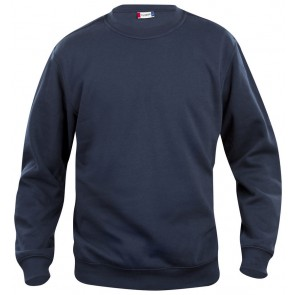 Clique Basic roundneck Donker Navy