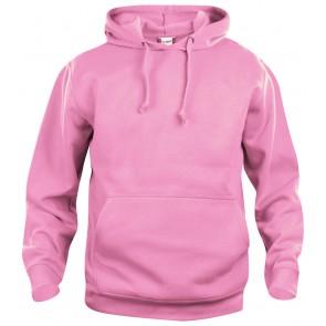 Clique Basic hoody Helder Roze