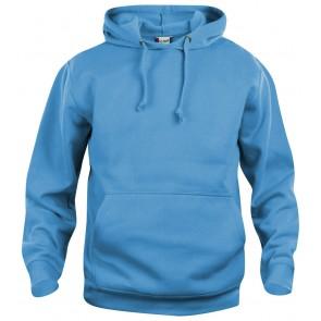Clique Basic hoody Turquoise