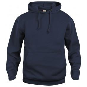 Clique Basic hoody Donker Navy