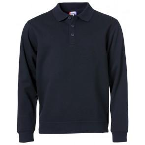 Clique Basic Polo Sweater Dark Navy