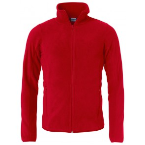 Clique Basic Polar Fleece Jacket Rood