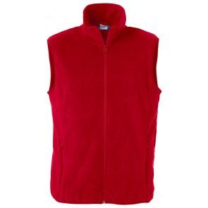 Clique Basic Polar Fleece Vest Rood
