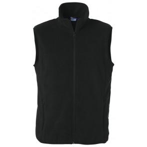 Clique Basic Polar Fleece Vest Zwart