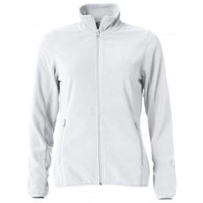 Clique Basic Micro Fleece Jacket Ladies Wit