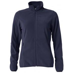 Clique Basic Micro Fleece Jacket Ladies Dark Navy