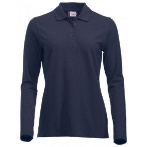 Clique New Classic Marion L/S Donker Navy