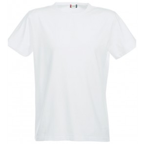 Clique Strecht-T T-Shirt Wit