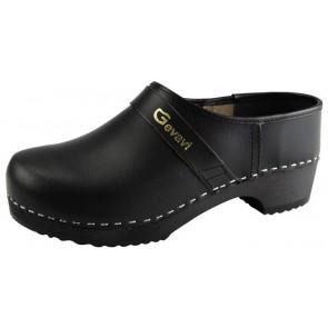Gevavi 900 gesloten schoenklomp hout zwart