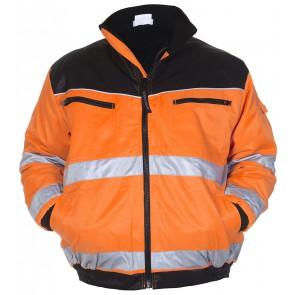 Hydrowear Helsinki Pilotjack Oranje/Zwart