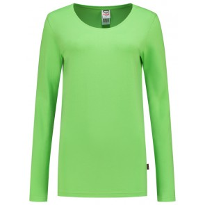 Tricorp 101010 T-Shirt Lange Mouw Dames Lime