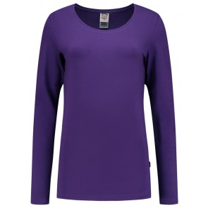 Tricorp 101010 T-Shirt Lange Mouw Dames Paars