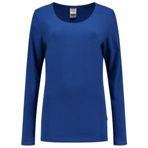Tricorp 101010 T-Shirt Lange Mouw Dames Korenblauw