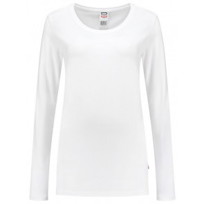 Tricorp 101010 T-Shirt Lange Mouw Dames Wit
