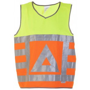Hydrowear Maurik Veiligheids vest Oranje/Geel