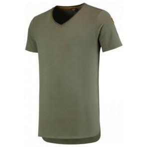 Tricorp 104003 T-Shirt Premium V Hals Heren Army