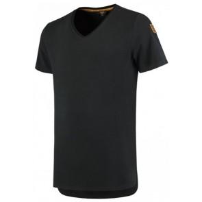 Tricorp 104003 T-Shirt Premium V Hals Heren Zwart