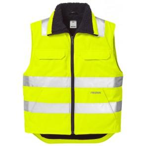 Fristads High vis bodywarmer klasse 2 5304 PP Hi-Vis geel