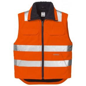 Fristads High vis bodywarmer klasse 2 5304 PP Hi-Vis oranje