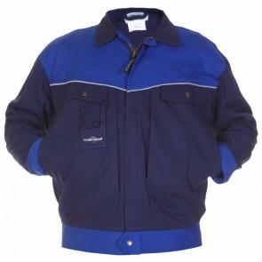 Hydrowear Parijs Werkjas Marineblauw/Kobalt